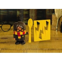 HARRY POTTER -  Egg Cup and Toast Cutter