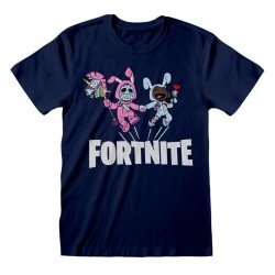 FORTNITE - T-Shirt Kids Bunny Trouble - Navy (7-8 Years) 176208  T-Shirts Fortnite