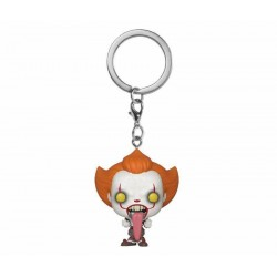 Pocket Pop Keychains : IT Chaper 2 - Pennywise with Dog Tongue 176477  Sleutelhangers