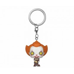 Pocket Pop Keychains : IT Chaper 2 - Pennywise with Beaver Hat 176479  Sleutelhangers