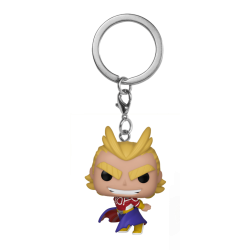 Pocket Pop Keychains : My Hero Academia - Silver Age All Might 176523  Sleutelhangers