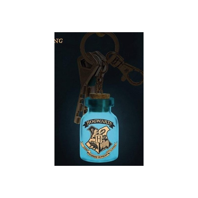 HARRY POTTER - Harry Potter Light Up Keyring v2 167632  Sleutelhangers