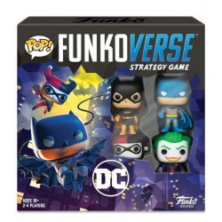 DC COMICS - Funkoverse 100 - Base Set 'FR' 176612  Funkoverse Strategy Game