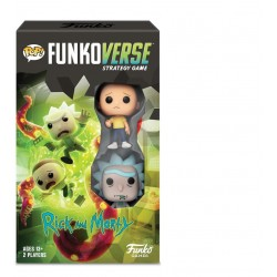 RICK AND MORTY - Funkoverse 100 - Expandalone 'FRENCH' 176631  Funkoverse Strategy Game