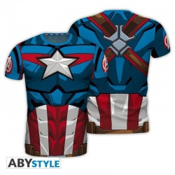 MARVEL - T-Shirt COSPLAY - Captain America (S) 176647  T-Shirts Captain America