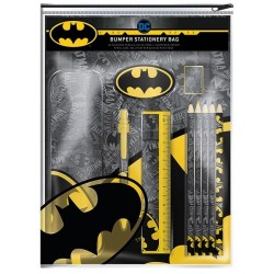 BATMAN - Bumper Stationary Set - Logo Strike 167622  Schoolgerei