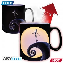 NIGHTMARE BEFORE XMAS - Mug Heat Change 460 ml - Jack & Lune 176720  Nightmare Before Christmas