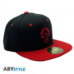 WORLD OF WARCRAFT - Cap - Black & Red - Horde 176738  World Of Warcraft Petten & Caps