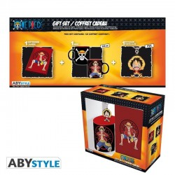 ONE PIECE - Pack Mug + Keyring + Notebook - Luffy 176770  One Piece