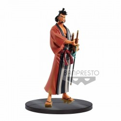 ONE PIECE - DXF Grandline Wanokuni Vol 4 - Kin Emon - 17cm 176802  Figurines