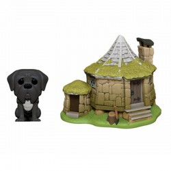 HARRY POTTER - Funko Pop TOWN N° xx - Hagrids Hut with Fang