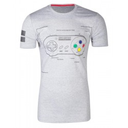 NINTENDO - T-Shirt - Super Power (L) 176863  T-Shirts Nintendo