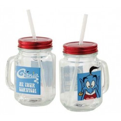 DISNEY - Aladdin At Your Service Mason Jar 173275  Drinkbekers - Mugs