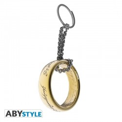 LORD OF THE RINGS - Keyring Metal 3D - Ring 176914  Sleutelhangers