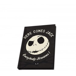 NIGHTMARE BEFORE XMAS - Carnet A6 / 80 Pages - Jack Phosphorescent 176931  Adresboekjes