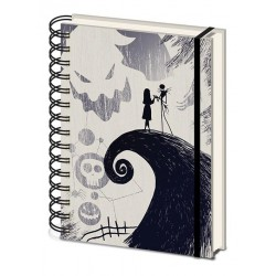 NIGHTMARE BEFORE CHRISTMAS - Notebook A5 -Spiral Hill 167597  Notitie Boeken