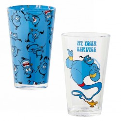 DISNEY - Pint Glas - Aladdin - At Your Service