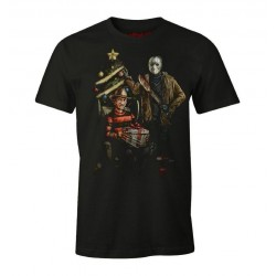HORROR - T-Shirt Christmas Freddy (M) 177032  T-Shirts Freddy Krueger