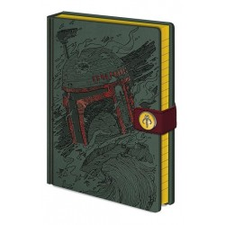 STAR WARS - Notebook A5 Premium - Boba Fett Art 167579  Notitie Boeken