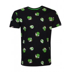NINTENDO - Men's T-Shirt - Super Mario Yoshi Egg (M) 177261  T-Shirts Mario