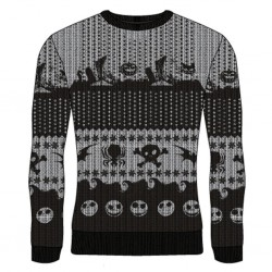 NIGHTMARE BOFRE CHRISTMAS - Symbols - Christmas Jumper (S) 177365  Nightmare before Christmas Kerst Truien
