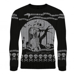 NIGHTMARE BOFRE CHRISTMAS - Seriously Spooky - Christmas Jumper (XXL) 177379  Nightmare before Christmas Kerst Truien