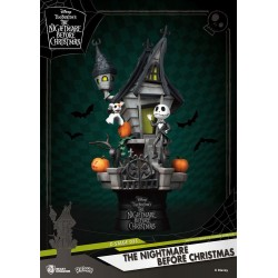 NIGHTMARE BEFORE CHRISTMAS - Jack's Haunted House Diorama - 15cm 177427  Nightmare before Christmas