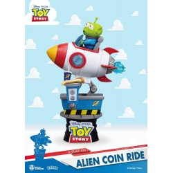 TOY STORY - Alien Coin Ride Diorama - 15cm 177428  Speelgoed