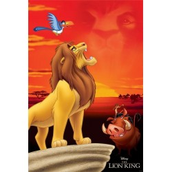 DISNEY - Poster 61X91 - The Lion King : Pride Rock 171210  Posters