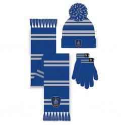 HARRY POTTER - Ravenclaw - Beanie - Scarf - Gloves - Set 177460  Mutsen