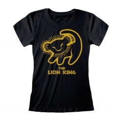 LION KING - Fitted T-Shirt - Classic - Silhouette (XXL) 177472  T-Shirts Lion King
