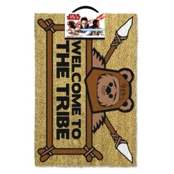 STAR WARS - Door Mat 40X60 - Welcome to the Tribe Ewok 167556  Deurmatten