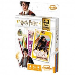 HARRY POTTER - 4 in 1 Card Games 177797  Harry Potter