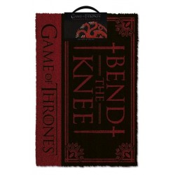 GAME OF THRONES - Door Mat 40X60 - Bend The Knee 167551  Deurmatten