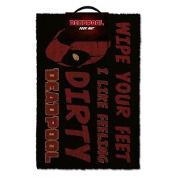DEADPOOL - Door Mat 40X60 - Dirty 167543  Deurmatten
