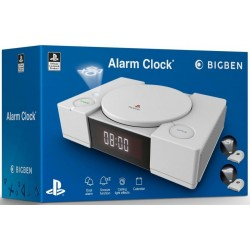 Official Playstation Radio Clock with Projection 177890  Klokken & Wekkers