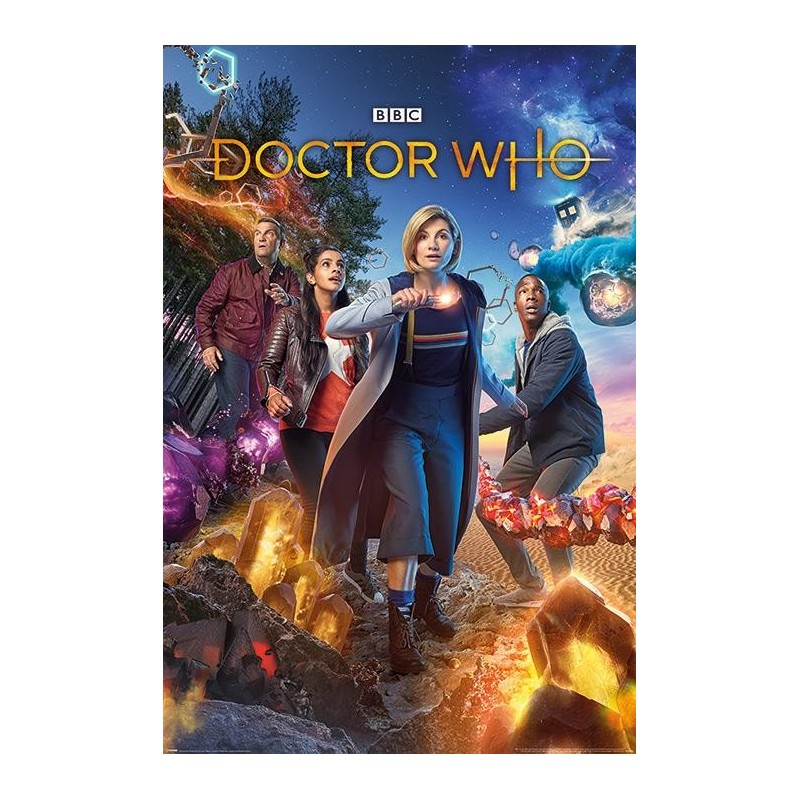 DOCTOR WHO - Poster 61X91 - Chaotic 171207  Posters