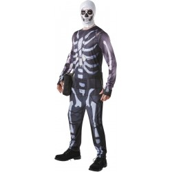 FORTNITE - Adult Disguise - Skull Trooper - (L) 178016  Verkleed Kostuum