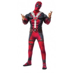 FORTNITE - Luxe - Adult Disguise - Deadpool 2 - (XL) 178074  Verkleed Kostuum
