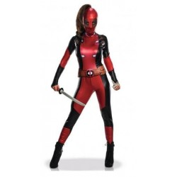 MARVEL - Sexy - Adult Disguise - Deadpool - Women - (XS) 178075  Verkleed Kostuum