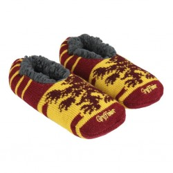HARRY POTTER - Gryffindor - Slippers Zachte Zolen - One Size 35-40 178089  Pantoffels - Slippers