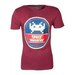 SPACE INVADERS - Men T-Shirt Rounder Invader - (S) 178277  T-Shirts Space Invaders