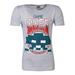SPACE INVADERS - Men T-Shirt Game Over - (S) 178282  T-Shirts Space Invaders