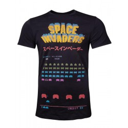 SPACE INVADERS - Men T-Shirt Level - (S) 178287  T-Shirts Space Invaders