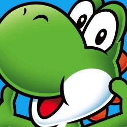 NINTENDO - Canvas 40X40 '18mm' - Super Mario : Yoshi 167522  Canvas