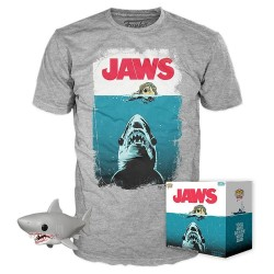 JAWS - Boxed T-Shirt POP + POP - (S) 178614  T-Shirts Jaws