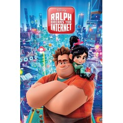 DISNEY - Poster 61X91 - Ralph Breaks the Internet 171205  Posters