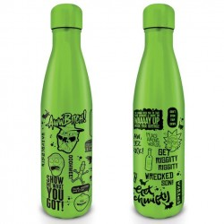 RIck & Morty - Metal Drinkfles 500ml - Quotes