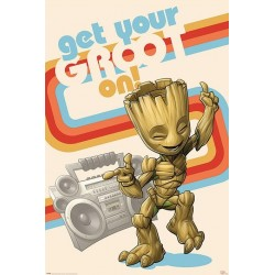 GUARDIANS OF THE GALAXY - Poster 61X91 - Get Your Groot On 178767  Posters