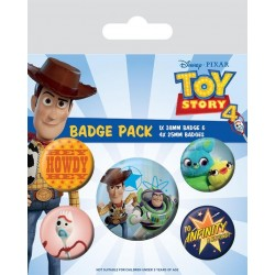 TOY STORY 4 - Pack 5 Badges - Friends for Life 178793  Badges